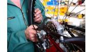 Kerékpár szerelő állás