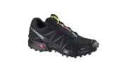 Salomon Speedcross 3 CS Black-Black-Silver Metallic-X