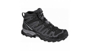Salomon X Ultra Mid GTX Black-Detroit-Aluminium