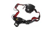 Cree Q5 fókuszálható fejlámpa piros hátsó fénnyel