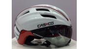 Casco SPEEDster sisak fehér-piros