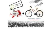 -15.000Ft Caprine Forest 26 női mtb kerékpár, fehér-piros