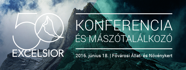 50 év a hegyek világában - Konferencia és Mászótalálkozó Forrás: www.excelsior.hu