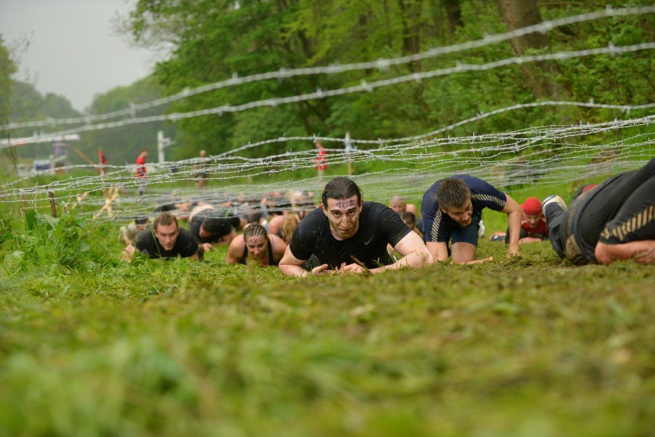 A kúszás örök Forrás: Spartan Race