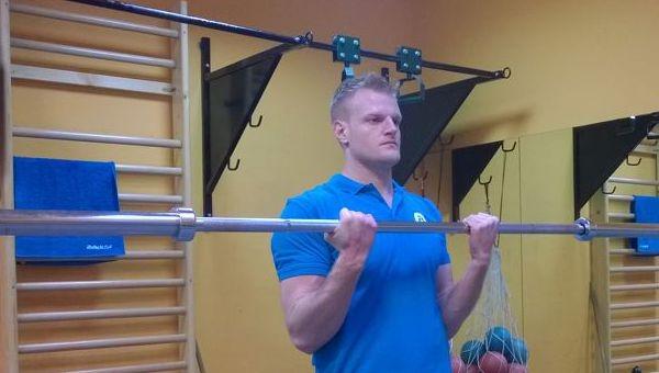 Bicepsz súllyal