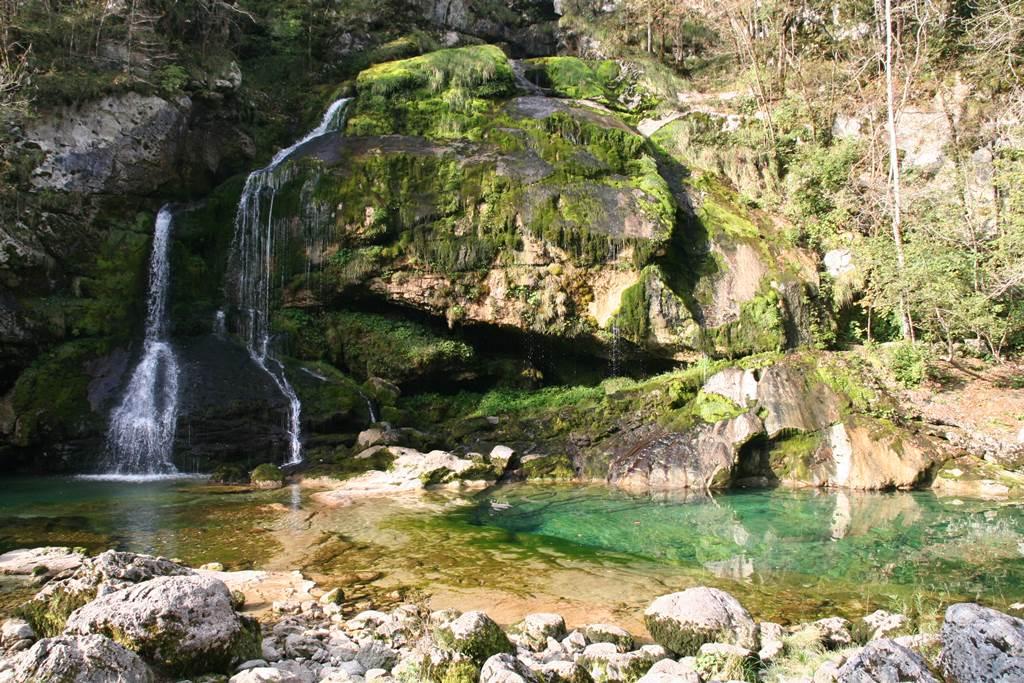 A Virje vízesés. Forrás: www.mozgasvilag.hu