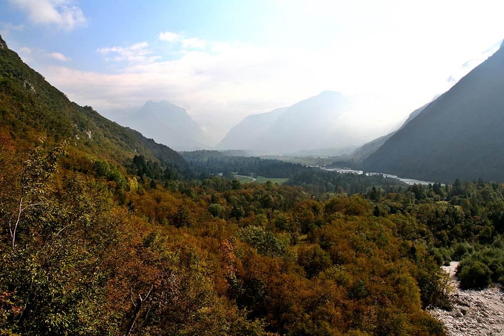 A Soca völgye. Forrás: www.mozgasvilag.hu
