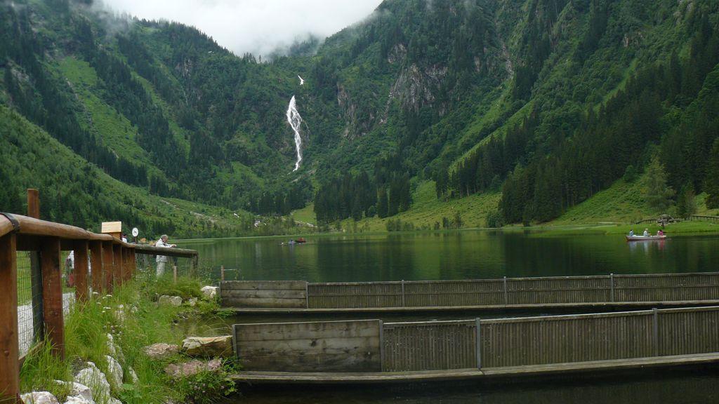 Az első tó ForrĂĄs: Mozgásvilág.hu