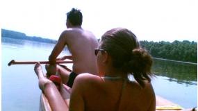 Két napos kenu túra a Dunán