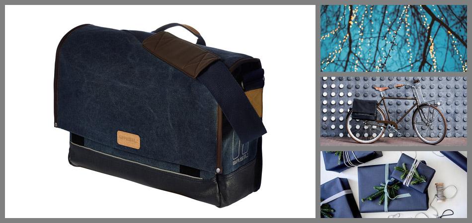Basil Urban Fold Messenger férfi kerékpáros táska