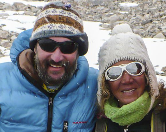 Szlankó Zoltán és Cleo Weidlich Forrás: 4bakancs.com