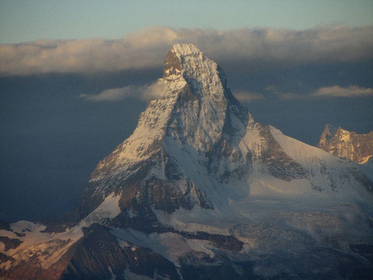 A Matterhorn égbe törő piramisa Forrás: Salamon Márk