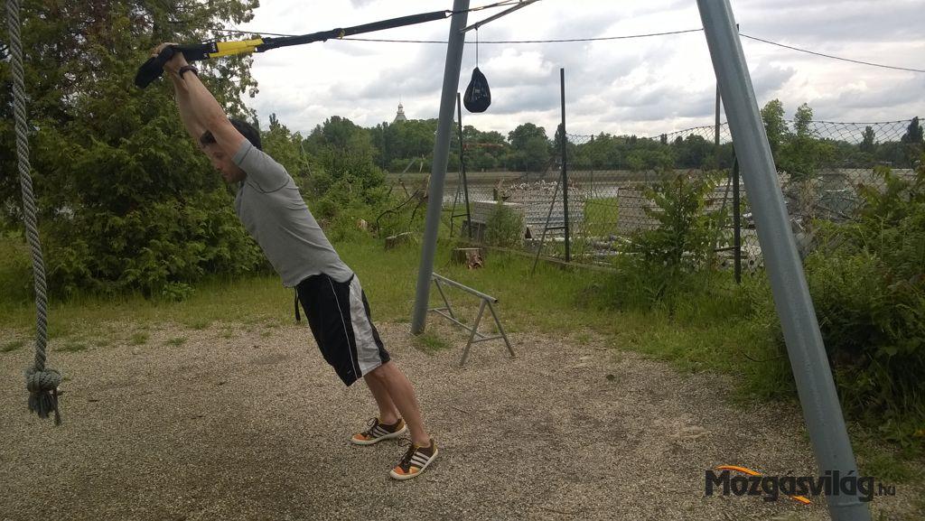 Triceps Press - Kezdő pozíció Forrás: Mozgásvilág.hu