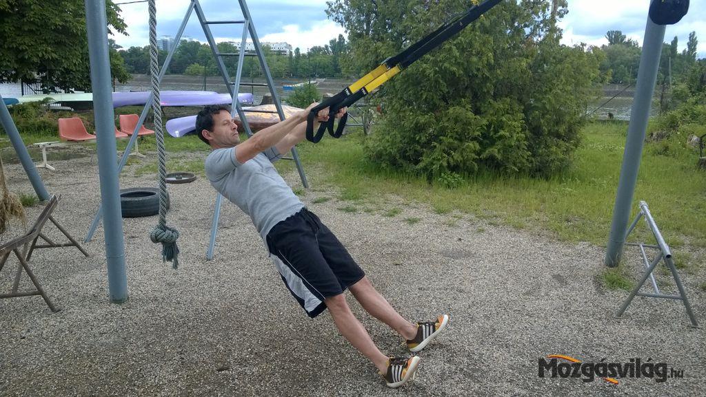 Bicepsz Curl - Kezdő pozíció Forrás: Mozgásvilág.hu