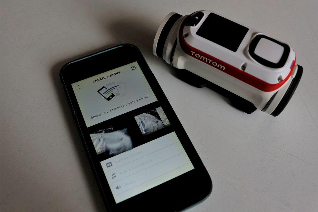 Bandit App - TomTom Bandit Action Cam Forrás: Mozgásvilág.hu