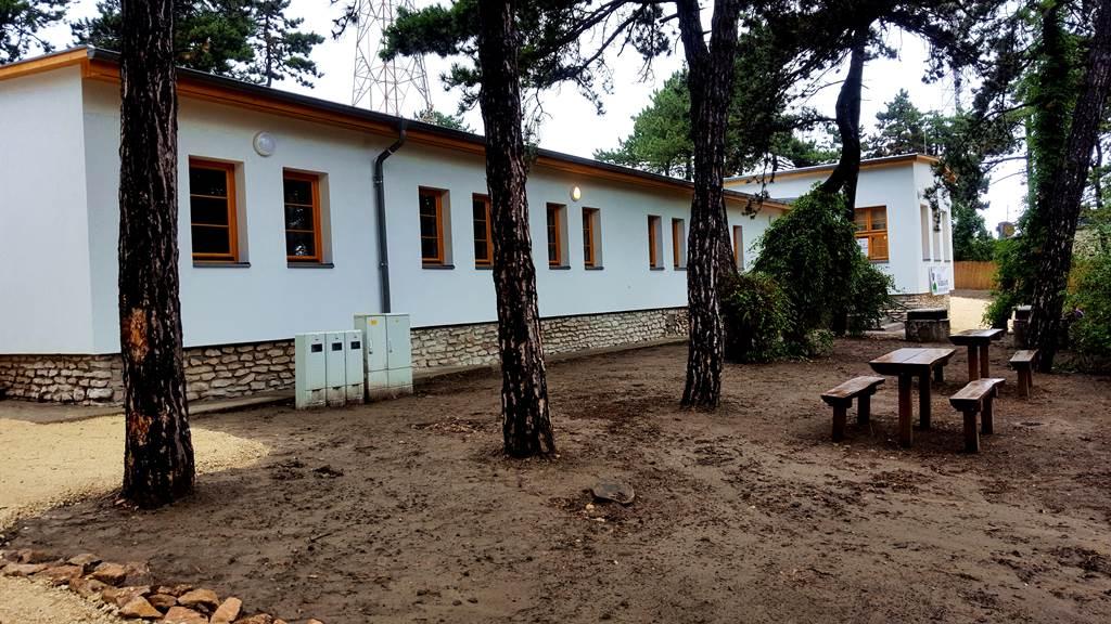 A Turistaház kívülről Forrás: www.mozgasvilag.hu