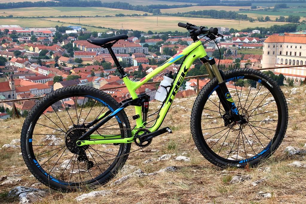 Fuel EX 9 29 összteleszkópos mountainbike Forrás: Bikemag/Bognár Tamás