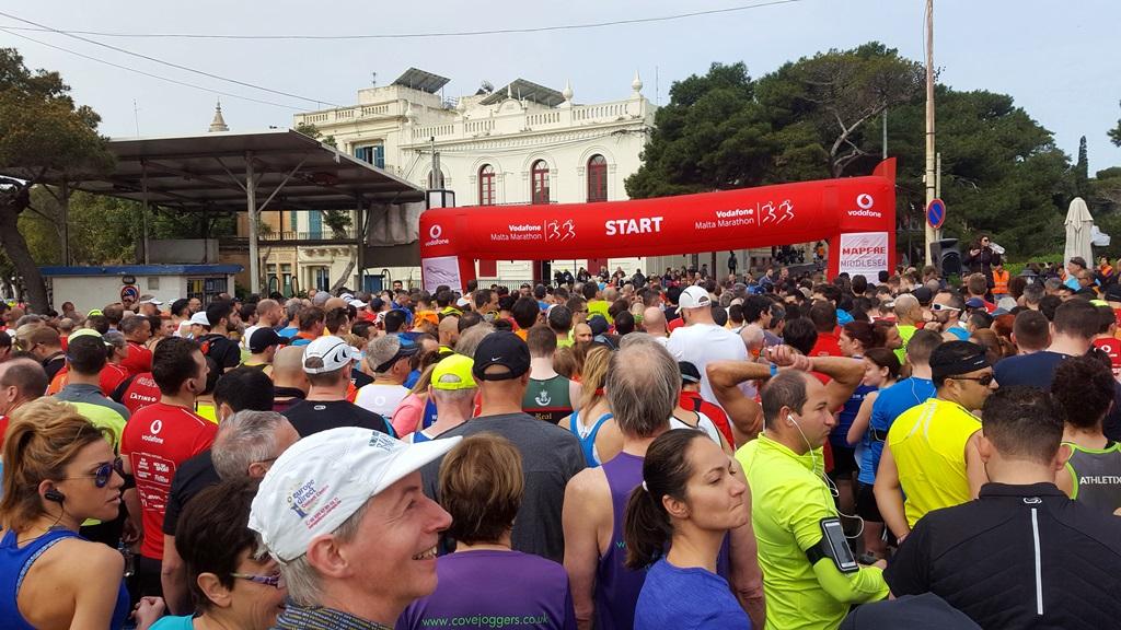 Málta Maraton 2018-ban