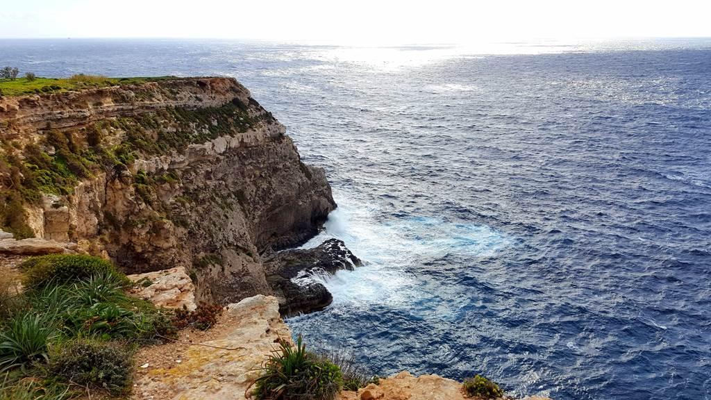 Vadregényes máltai tengerpart