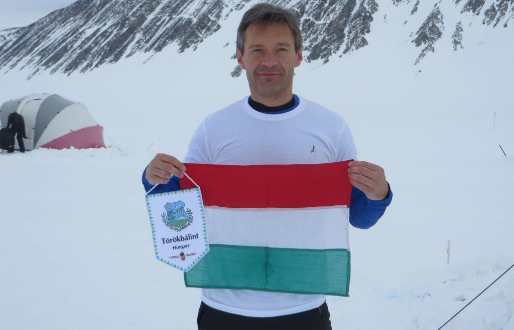 Antarktisz Maraton - Tóth István Forrás: Tóth István