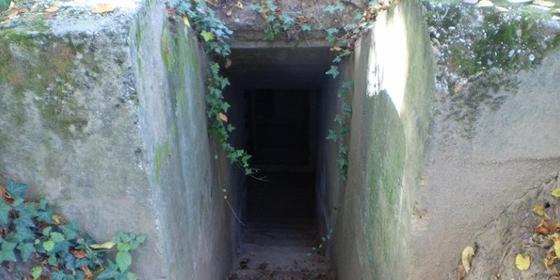 Bunker bejárat - (Geocaching.hu)