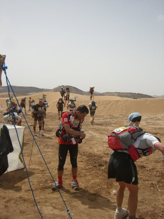 CP 1 Stage 1; first dunes