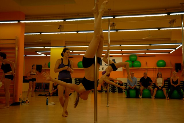 Pole Dance Fitness óra