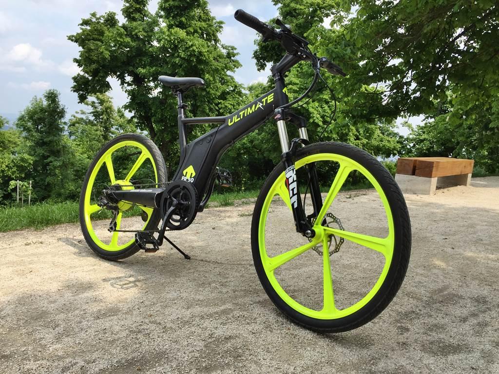 Ultimate Drag M fekete UV e-bike