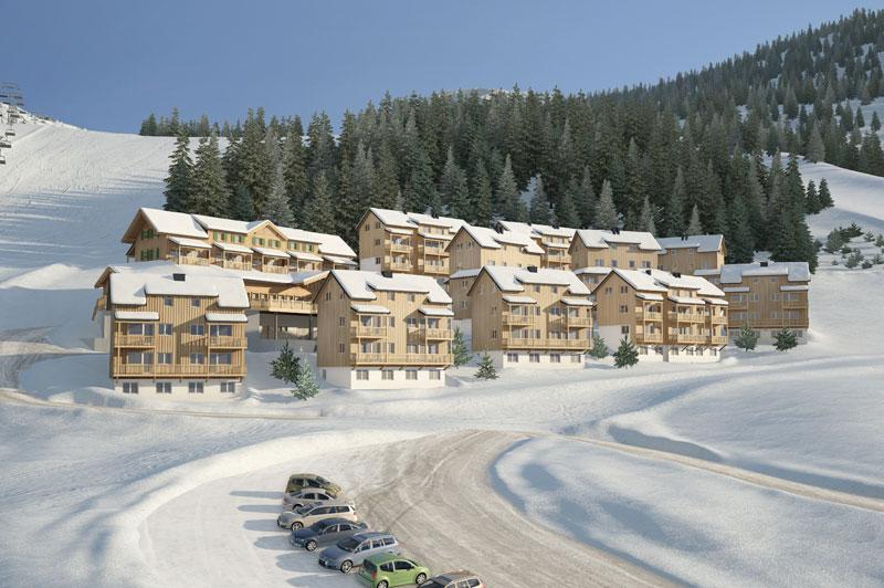Alm Resort Nassfeld Forrás: www.almresort-nassfeld.com