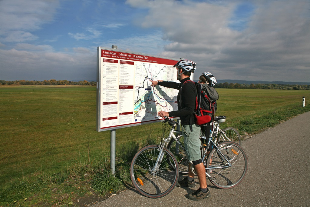 Változatos kerékpárútvonalak a régióban