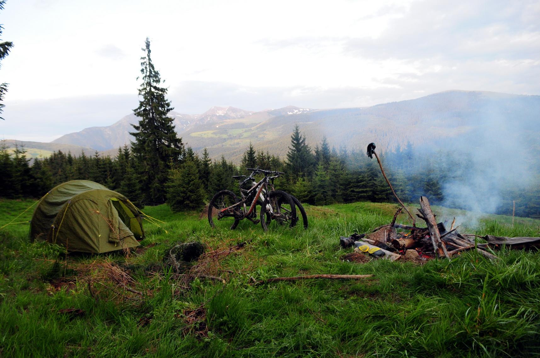 A vad természetben is lehet pihentető az éjszaka, megfelelő felszereléssel Forrás: Paraferee - Mozgásvilág.hu