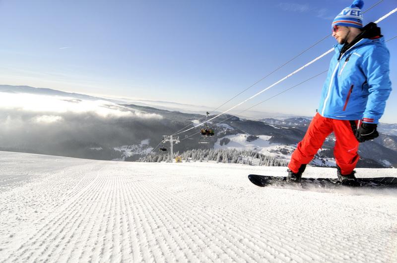 Snowboard Donovaly Forrás: parksnow donovaly