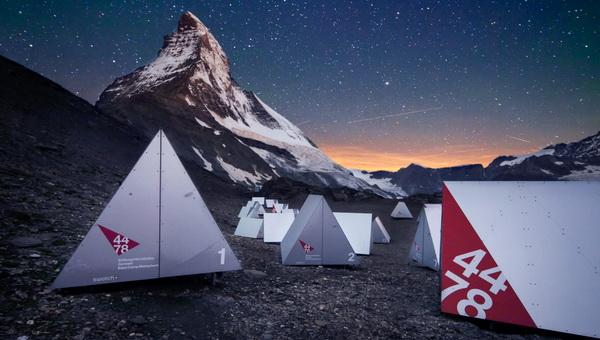 Matterhorn Basecamp Forrás: hoernlihuette.ch