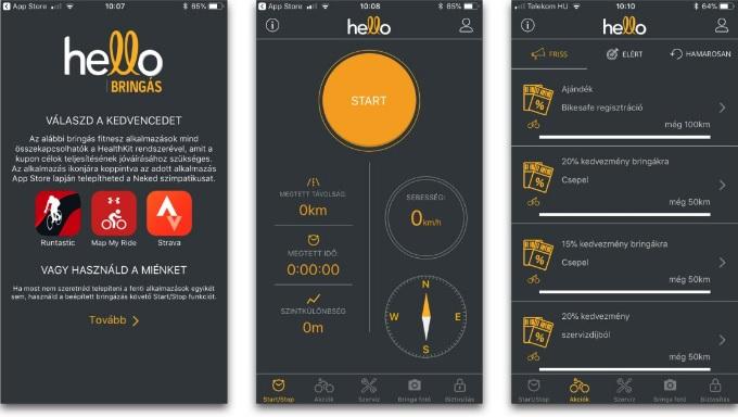Hello Bringás app
