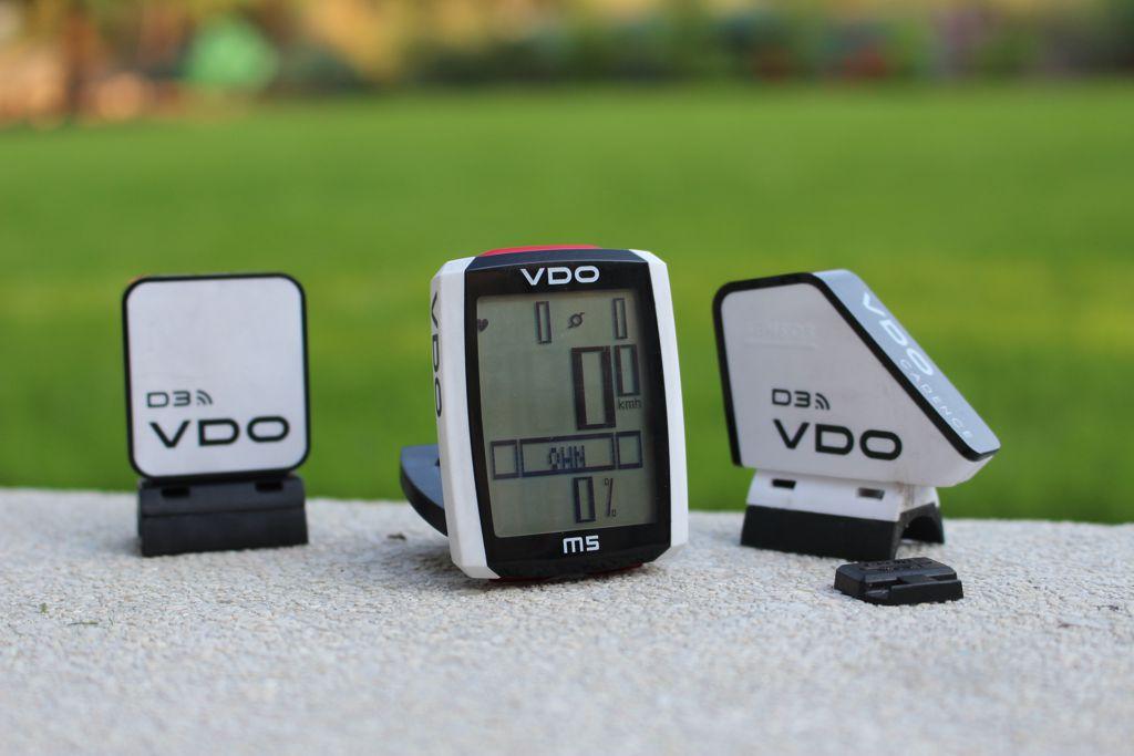 VDO M5 szett - pulzusmérő nélkül Forrás: Mozgásvilág.hu