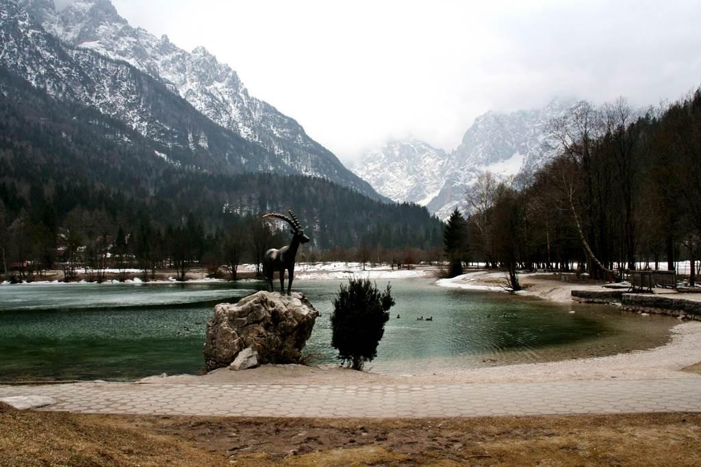 Jasna tó és a Zlatorog, az aranyszarvú hegyi kecske Forrás: www.mozgasvilag.hu