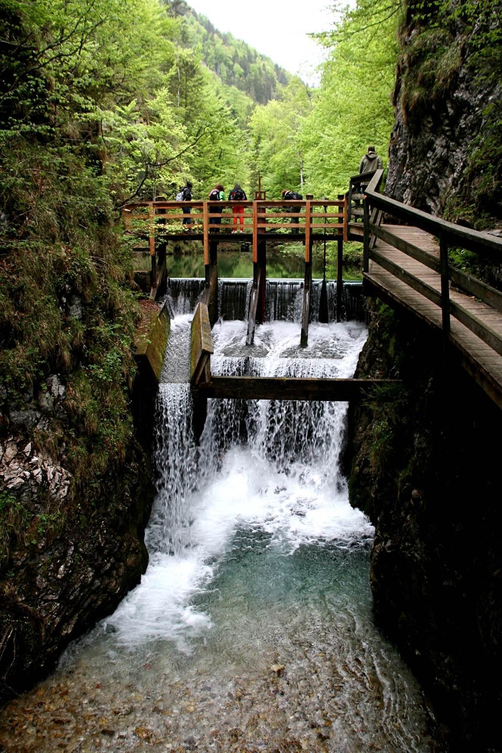 Mendlingtali szurdoktúra a Mendling folyó mentén Forrás: www.mozgasvilag.hu