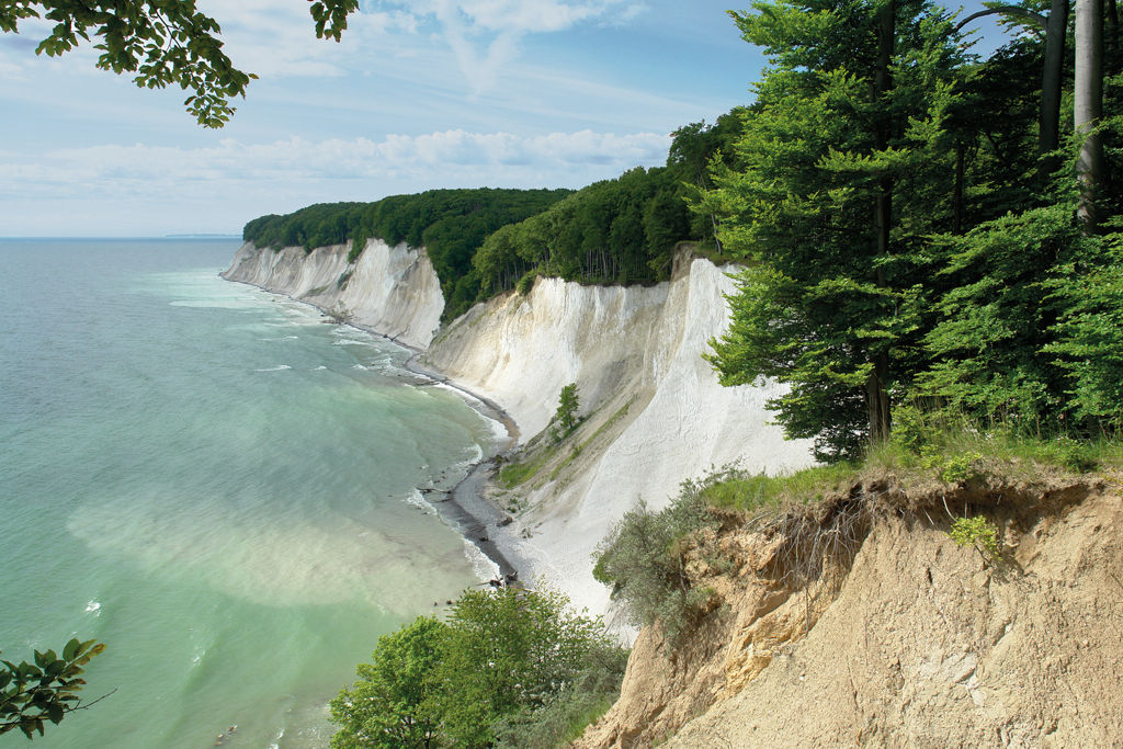 Jasmund Nemzeti Park Forrás: Nationalpark-Zentrum KÖNIGSSTUHL / Peter Lehmann