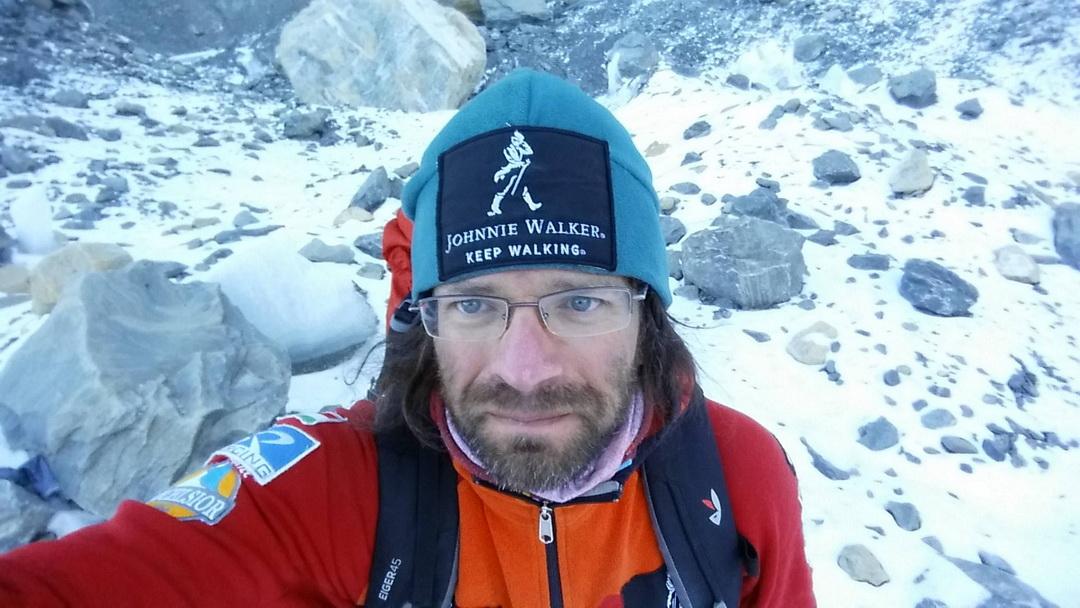 Dávid szelfi Forrás: Johnnie Walker Annapurna Expedíció
