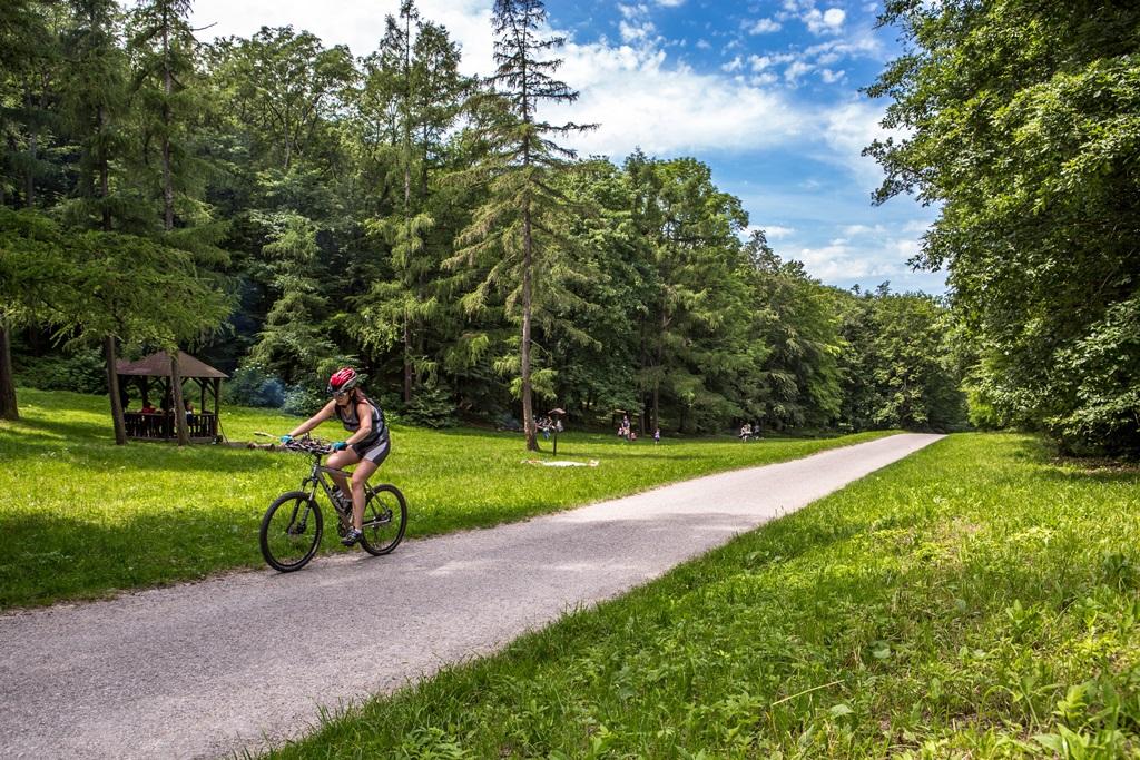Több, mint 40 kerékpárútvonal a térségben