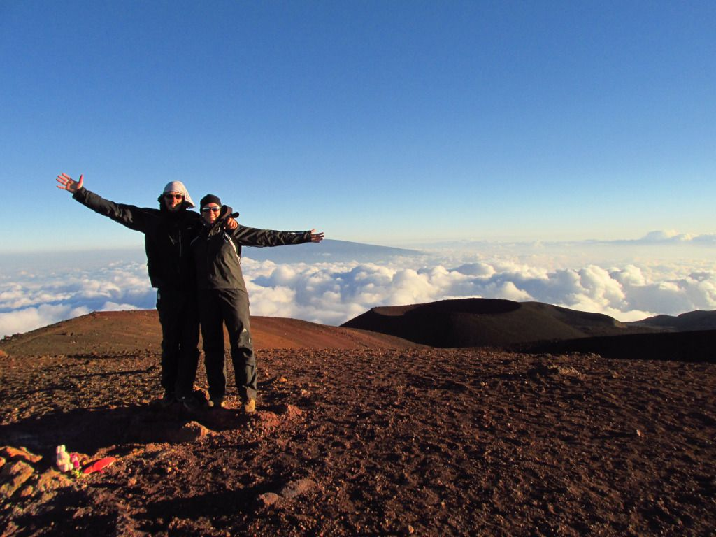 Mauna Kea vulkán tetején Forrás: 360fokbringa.com