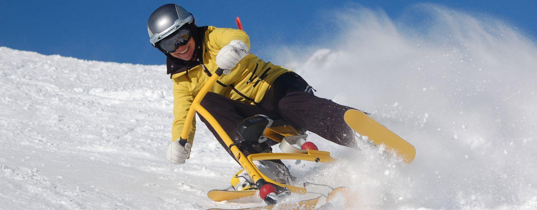 Snow Bike Krvavecen Forrás: www.rtc-krvavec.si