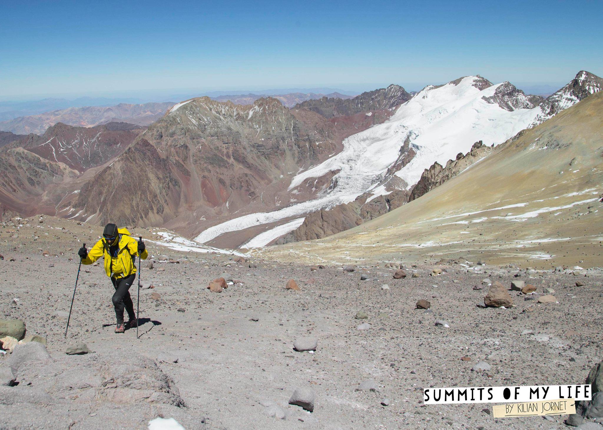 Akklimatizációs mászás az Aconcaguán Forrás: summitsofmylife.com