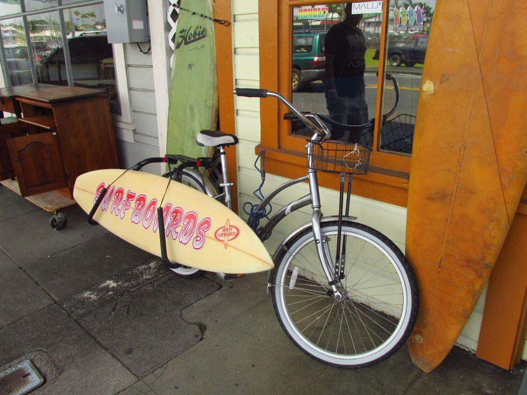 Szörfdeszka a kerékpáron Forrás: 360fokbringa.com