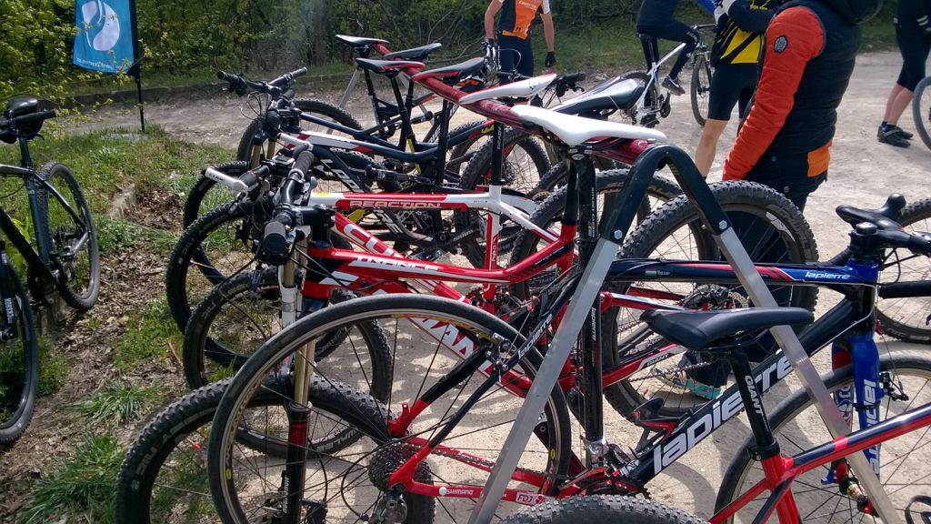 Alpinbike teszttekerés Forrás: Mozgásvilág.hu