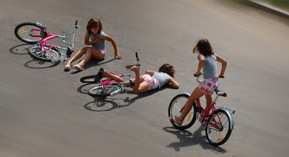 Kerékpáros Baleset