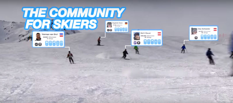 The community for skiers
