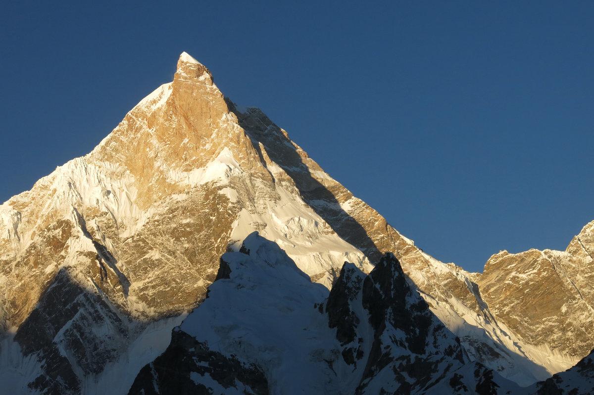 A Masherbrum megmászatlan északkeleti fala Forrás: Andreas Gradl/Red Bull content pool
