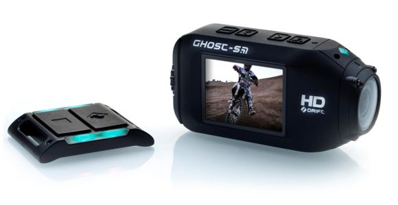 Drift HD Ghost-S Forrás: MyActionCam.hu
