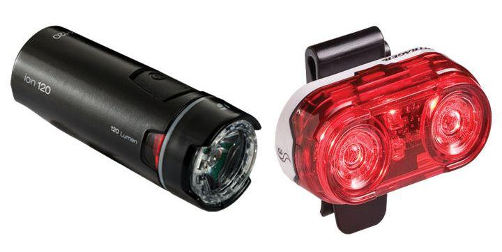 Bontrager Ion 700-as lámpa Forrás: Trek